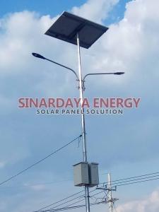 distributor lampu pju solarcell multi LED 100watt