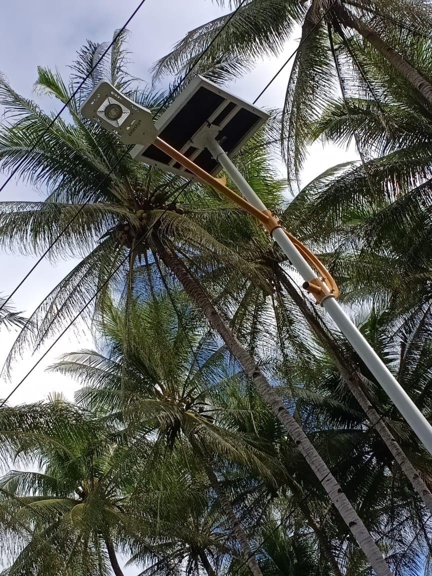 Paket Lampu PJU Tenaga Surya 20 Watt | PJUTS 20 Watt