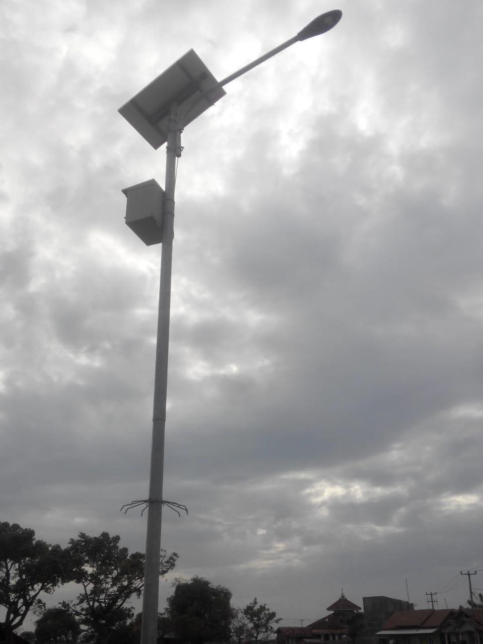 jual Paket Lampu PJU Tenaga Surya 30 Watt | PJUTS 30 Watt