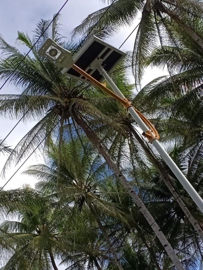 Paket Lampu PJU Tenaga Surya 50 Watt PJUTS 50 Watt