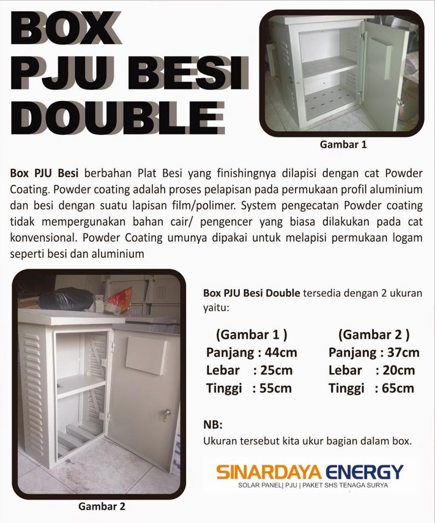 Brosur Box PJU Besi Double