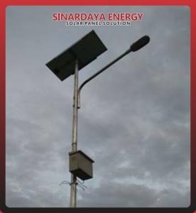 Paket PJU solarcell 20watt
