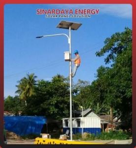 Pju tenaga surya 20 watt