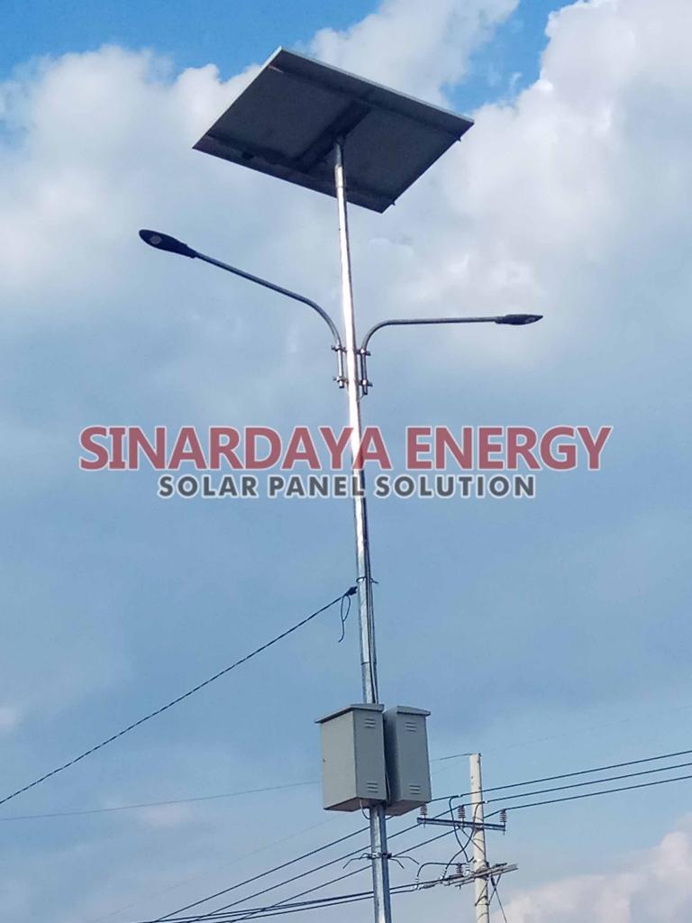 distributor lampu pju solarcell multi LED 50watt