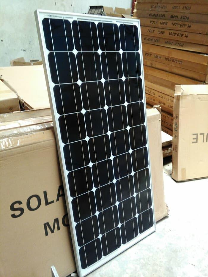 harga panel surya 100wp