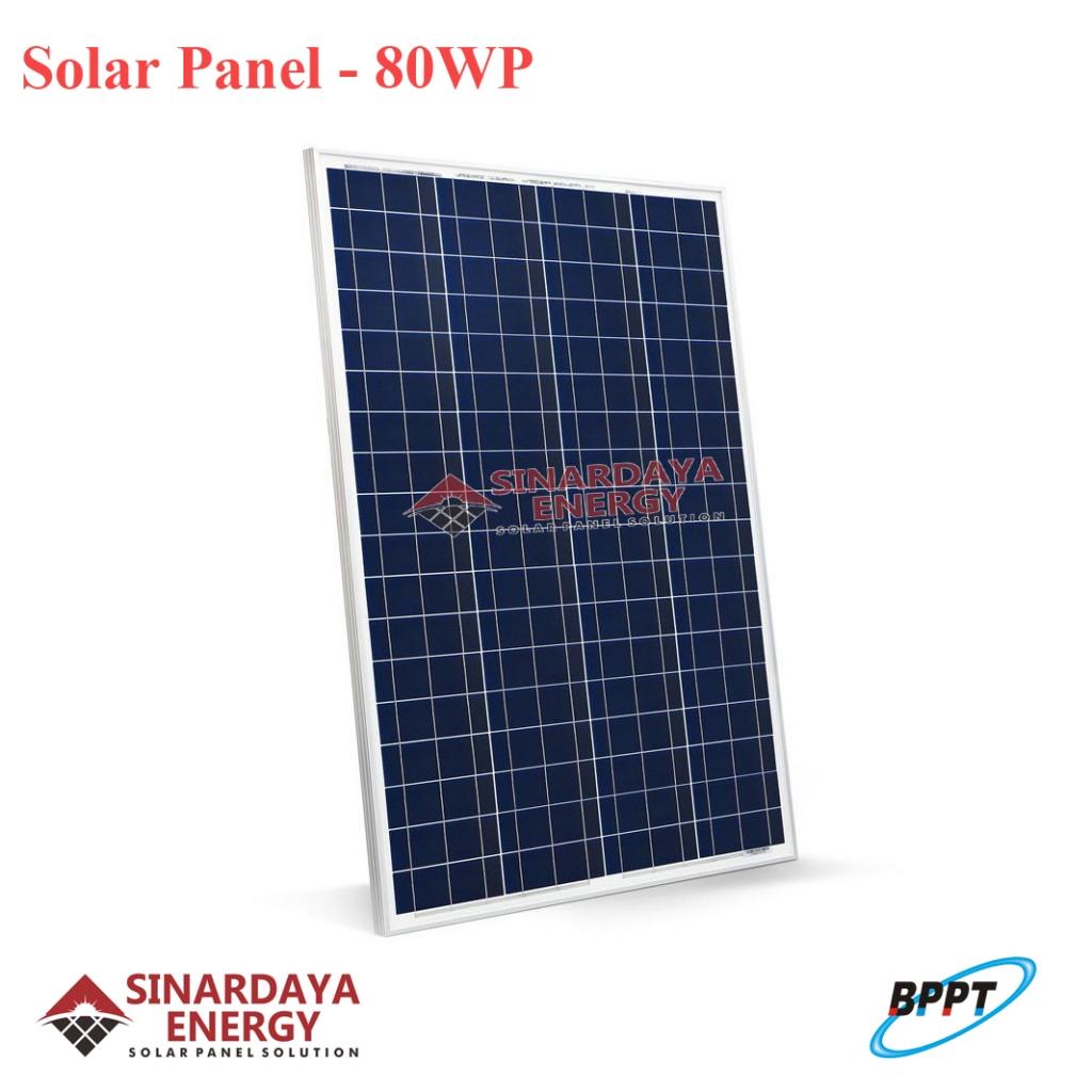 harga panel surya 80wp