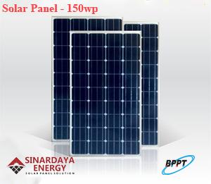 jual solar panel surya 150wp bppt