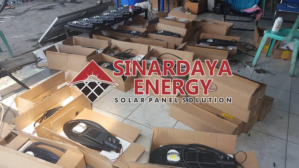 harga paket pju solarcell pulau lombok