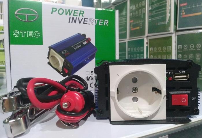 Harga inverter STEC 500Watt
