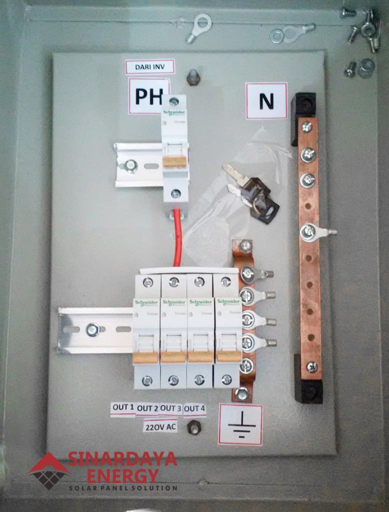 jual box panel pju tenaga surya