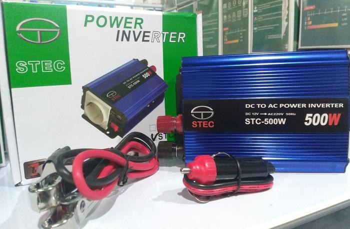 jual solar panel inverter STEC 12v 500watt