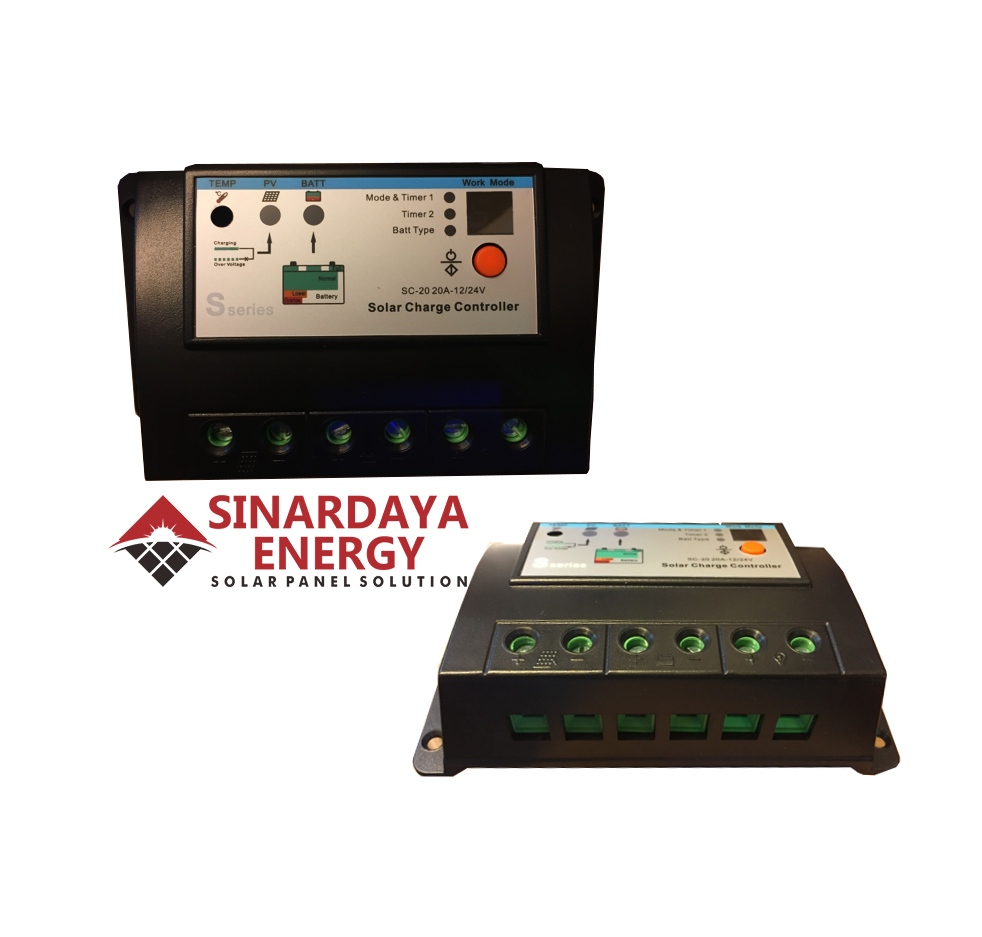 Distributor Solar Charge Controller Sseries 20A