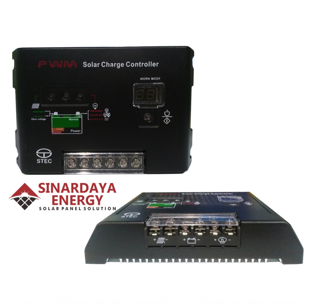 JUAL Charge Controller STEC 10a 24v DC