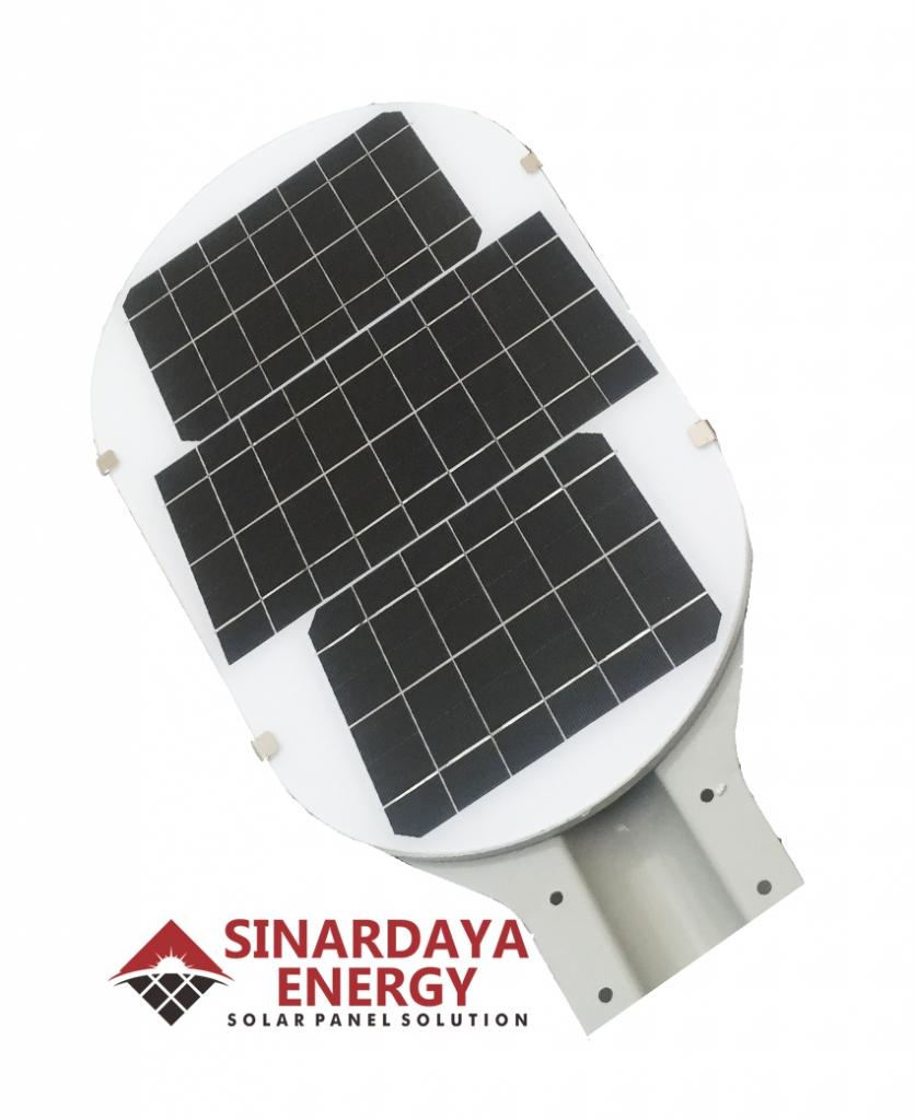 lampu jalan tenaga surya fatro 75watt