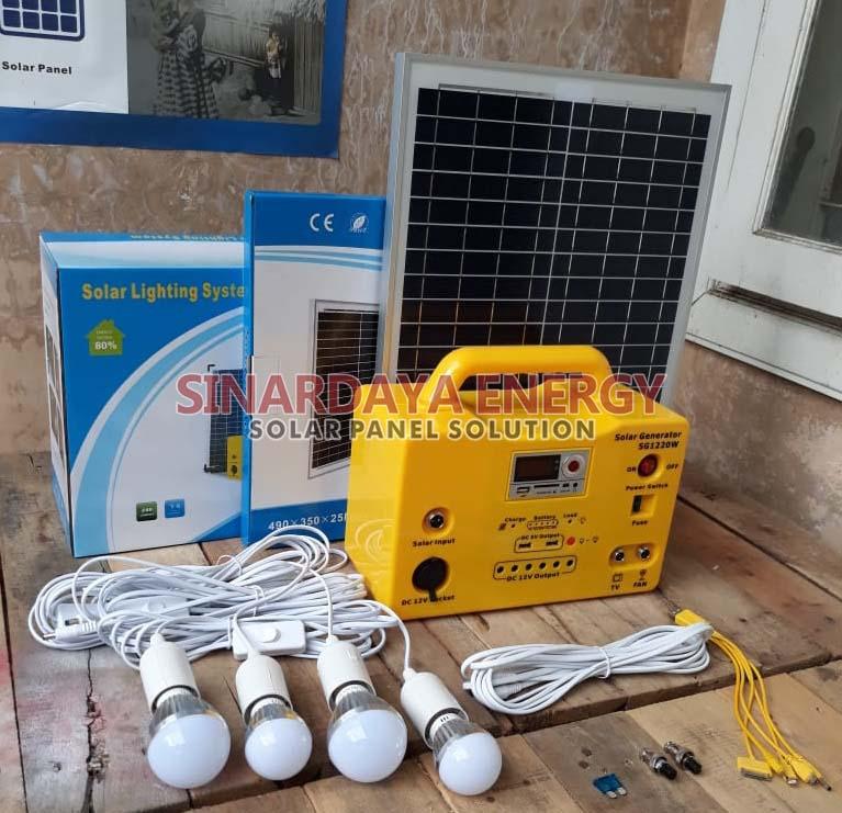 paket SEHEN solar kit 4 lampu