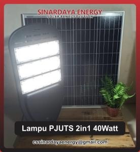 harga lampu pju solarcell 2in1 40watt