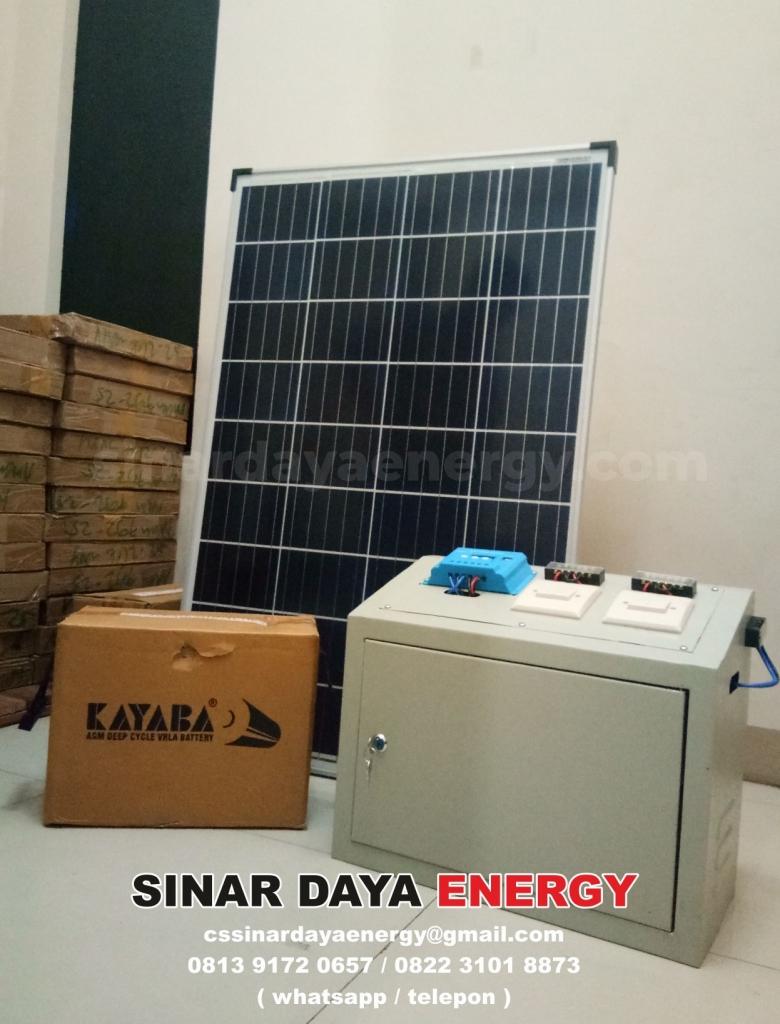 Paket Solar Home System 1000watt