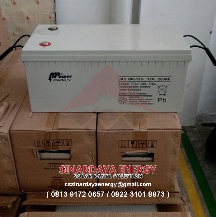 jual Baterai VRLA Solarcell MPower