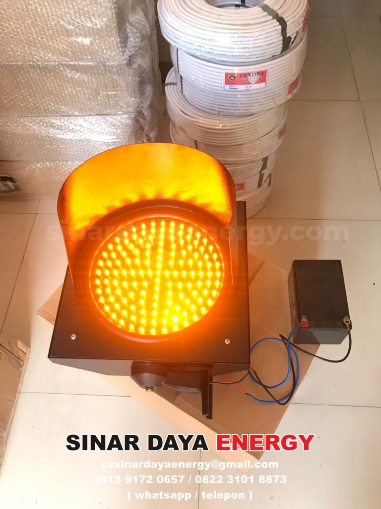 jual Lampu Hati-Hati Tenaga Surya 1 Aspek 30cm