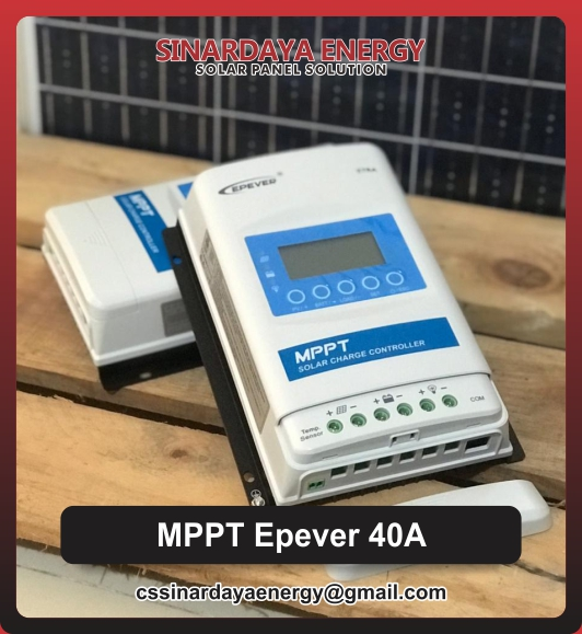 Harga Epever 40A MPPT Solar Charge Controller