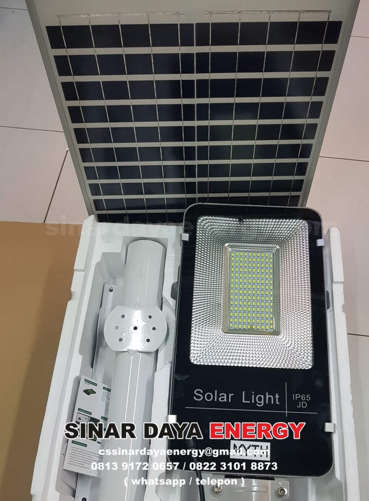 Harga Lampu Solar Panel Surya 2 in 1 150 watt