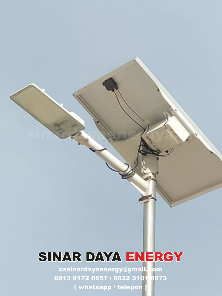 harga paket lampu solar cell 2in1 100watt