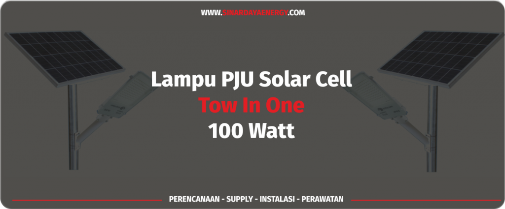 jual PJUTS solarcell 2in1 100watt