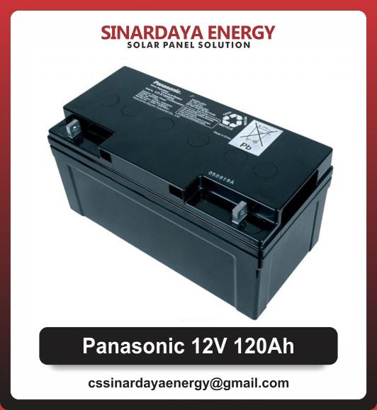 jual baterai vrla panasonic 12v 120ah
