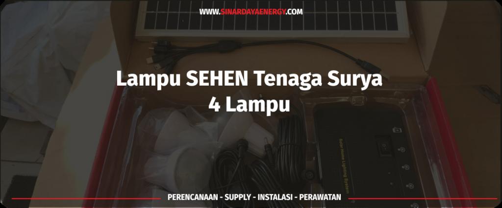 paket shs tenaga surya sehen