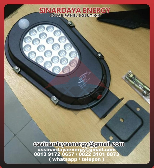 Harga Lampu PJU Solarcell All In One Fatro
