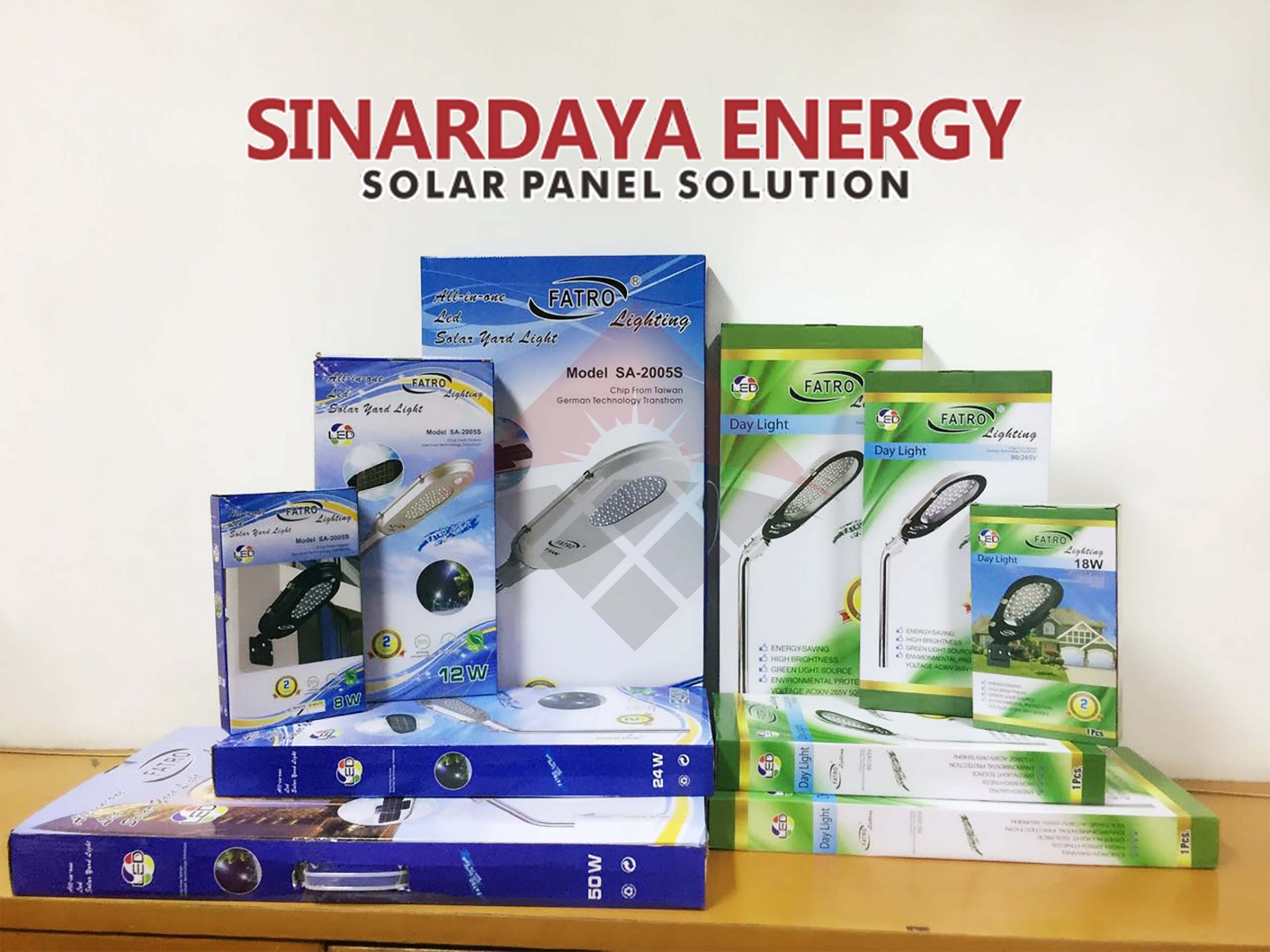 Harga Lampu Solar cell All In One Fatro