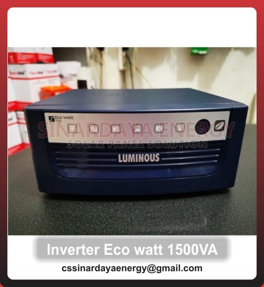 solar Inverter Scheneider eco watt luminous