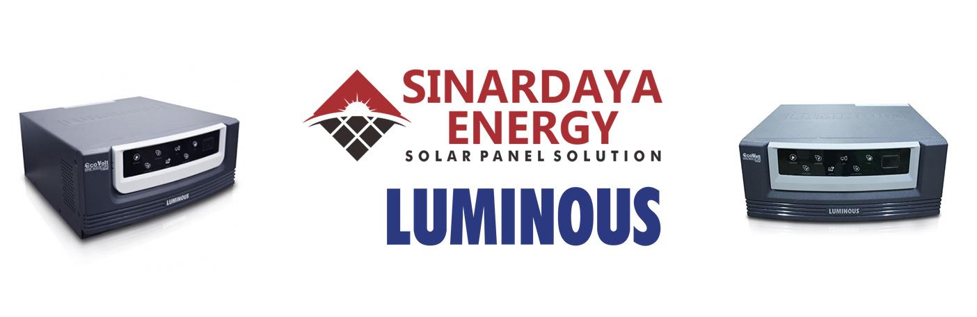 solar inverter LUMINOUS