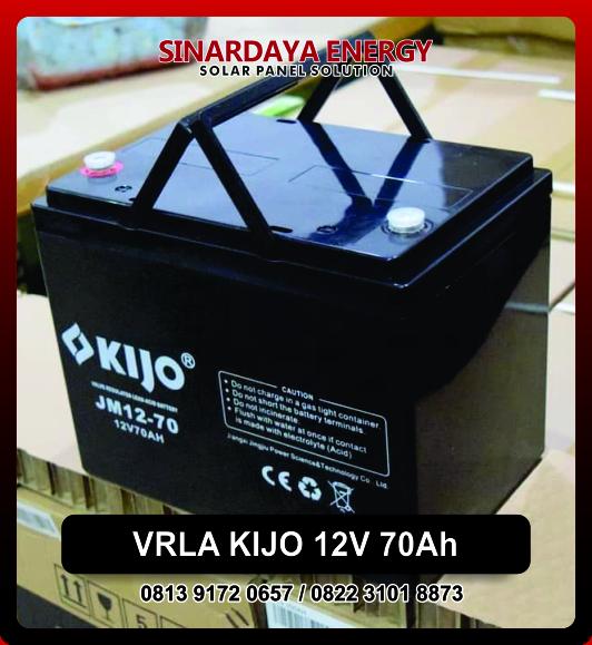 Baterai VRLA KIJO 12V 70Ah