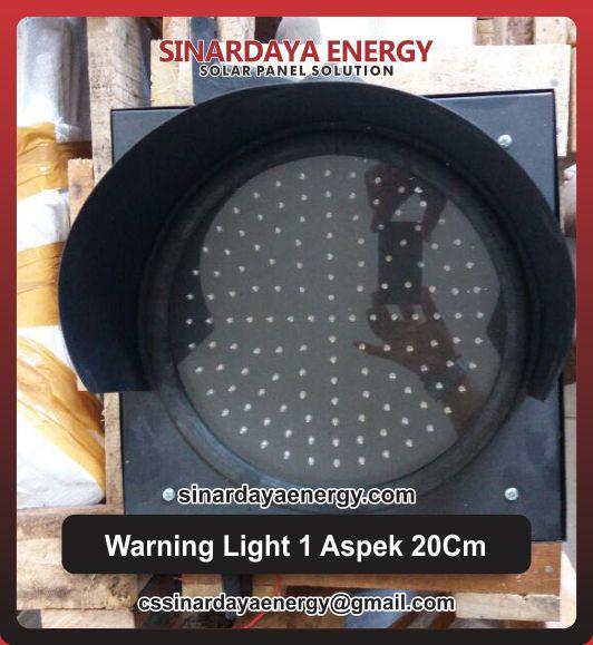 Lampu Warning Light 1 Aspek 20Cm