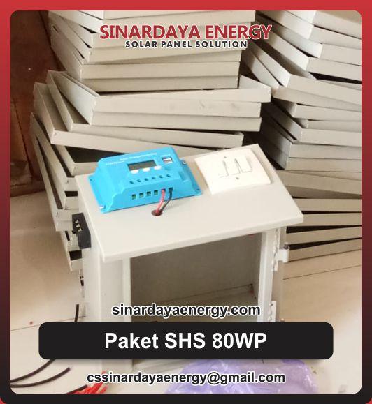 Paket PLTS SHS Mini Rumahan 80WP