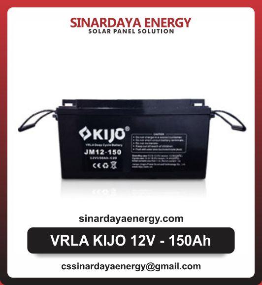 jual baterai solarcell kijo