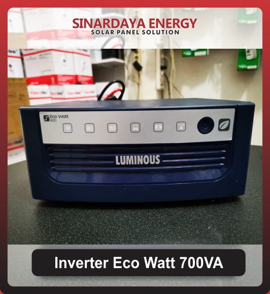 Solar Inverter LUMINOUS Eco Watt 700va
