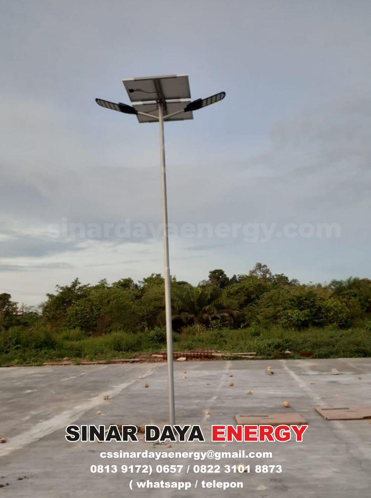 lampu PJU solar cell nusa tenggara timur