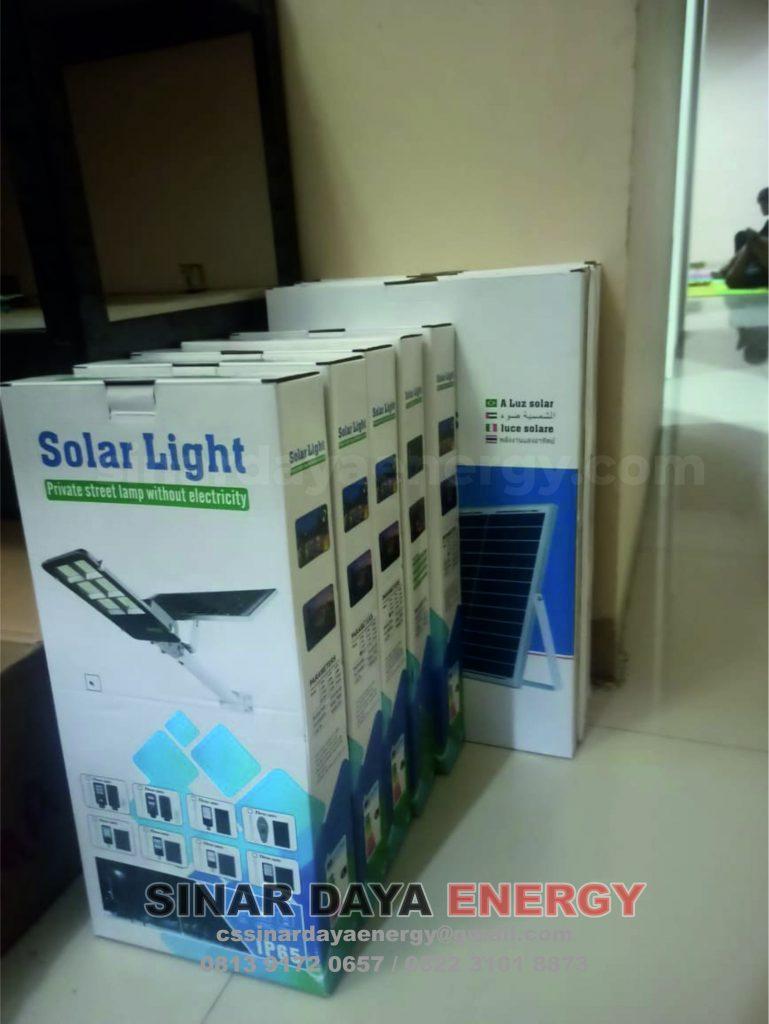harga Lampu PJU Solarcell Tow In One 50watt