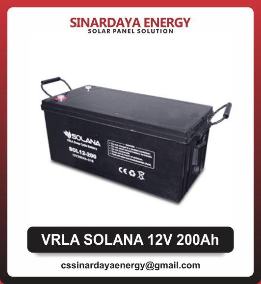 jual baterai solarcell vrla 200ah