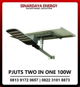 PJU tenaga surya two in one 100w