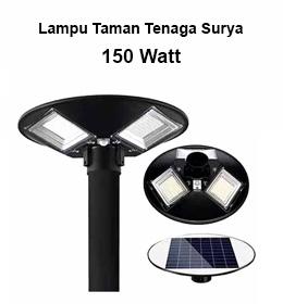 harga lampu taman tenaga surya