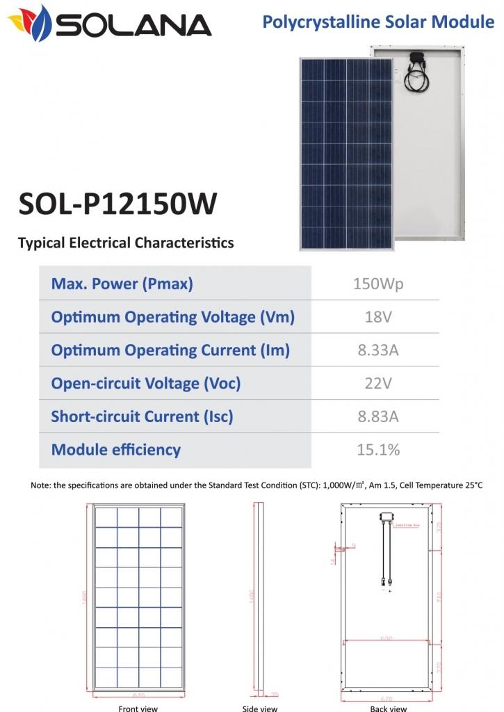 distributor panel surya solarcell solana
