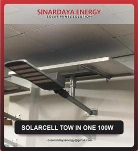 harga lampu tenaga surya 2in1 100w