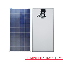 jual modul solarcell 150wp luminous