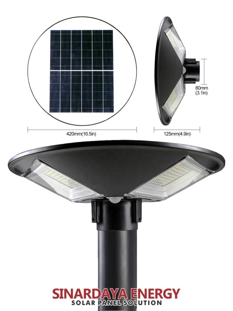 lampu taman tenaga surya