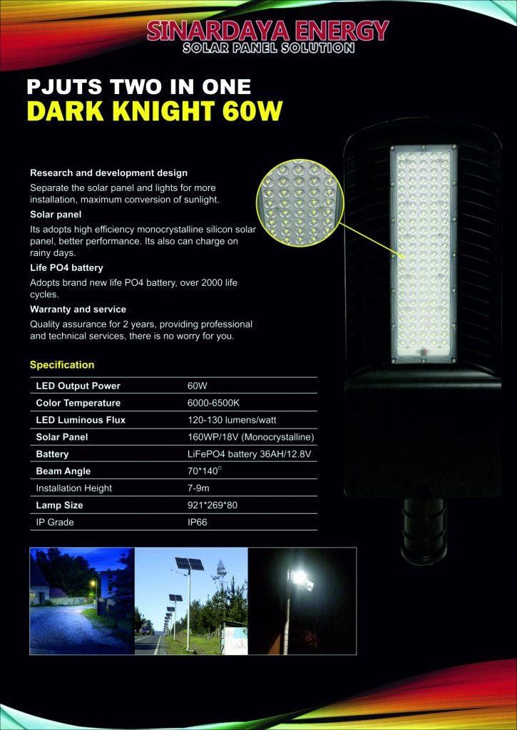 PJUTS 2in1 Dark Knight 60w