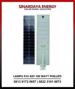 harga lampu solarcell all in one phillips 100w