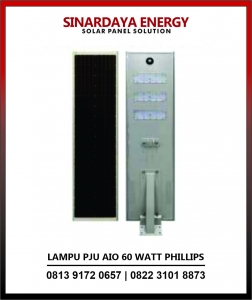harga lampu solarcell all in one phillips 60w